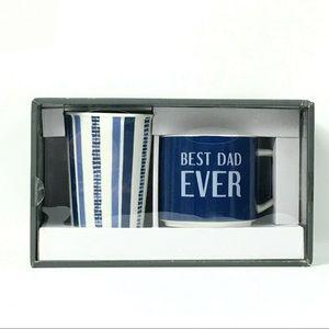 Porcelain Mug And Tumbler Set Best Dad Ever 2 Pc